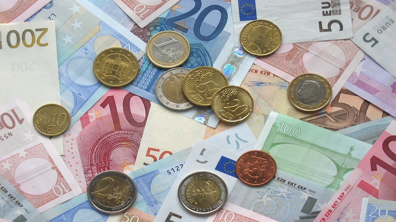 Money Spain Local Currency Euro